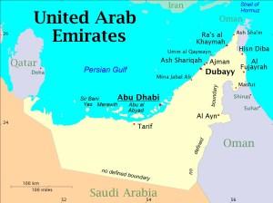 UAE_Map